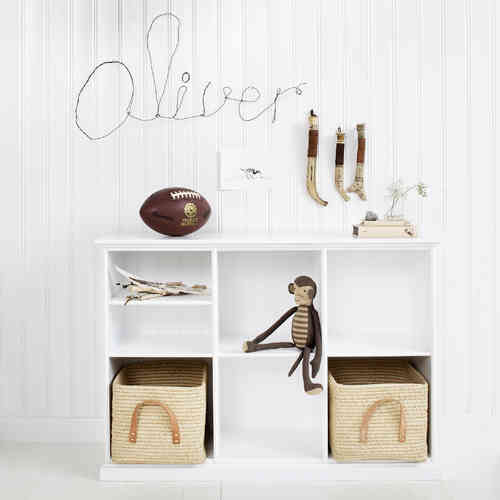 Oliver Furniture Cabinet Low 3 Sections