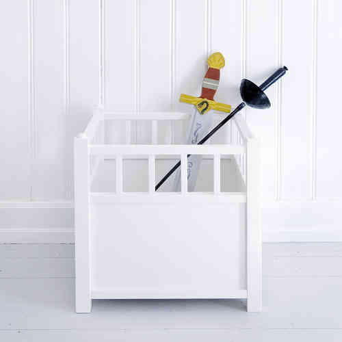 Oliver Furniture Cube White