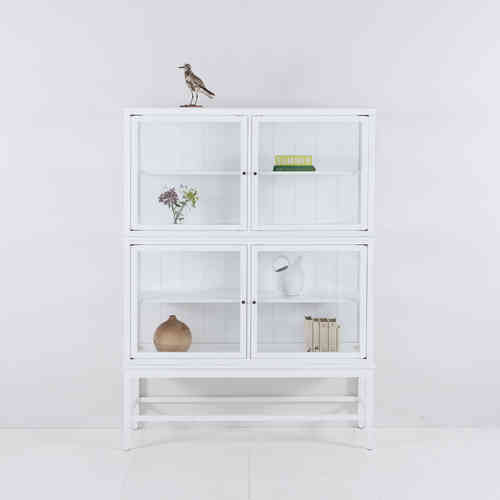 Oliver Furniture Glass Cabinet with Legs