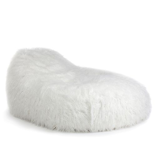 Pushbag XXL Fur White