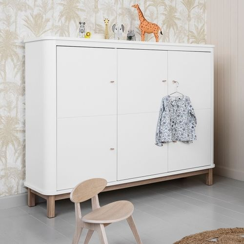 Oliver Furniture Wood Collection Multi Cupboard 3 doors