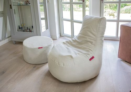 Loungestoel Outbag Slope in stoere canvas