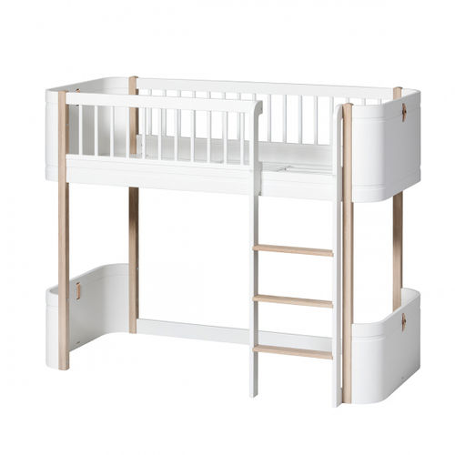 Oliver Furniture Wood Collection Mini+ low loft bed